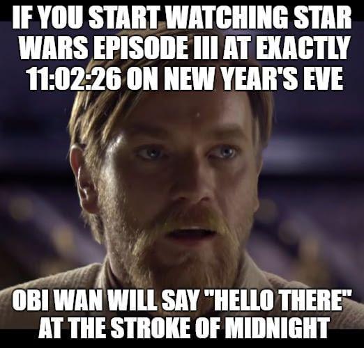 Start Your New Year Right Star Wars Facts Star Wars Jokes Star Wars Humor