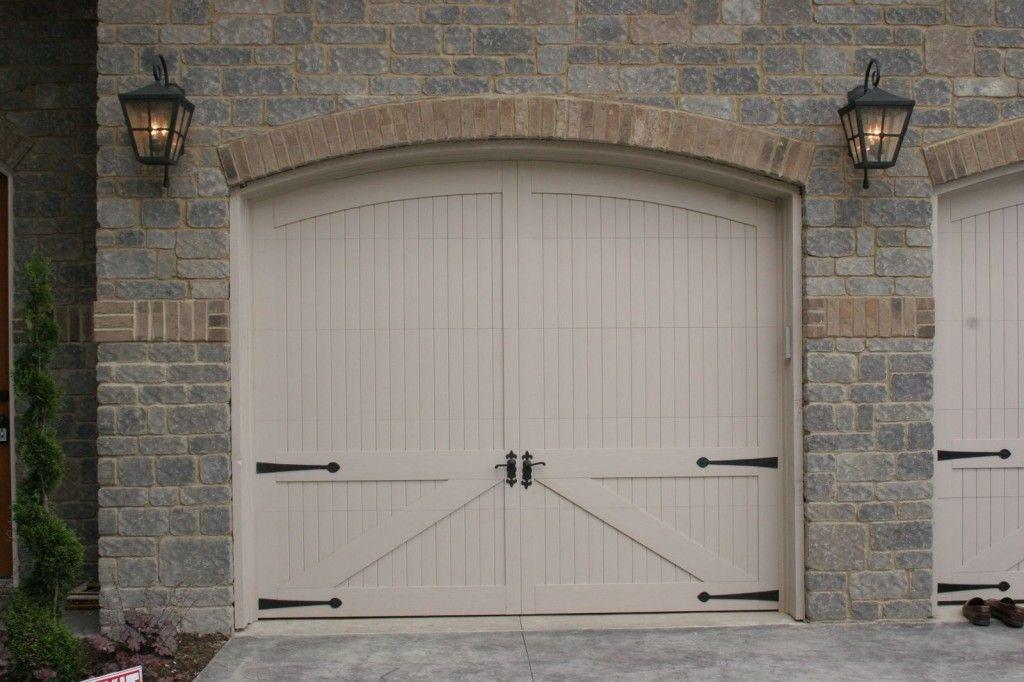Double Carriage Style Garage Doors Rustic Mahogany Carriage Style Garage Doors Garage Doors Garage Door Design