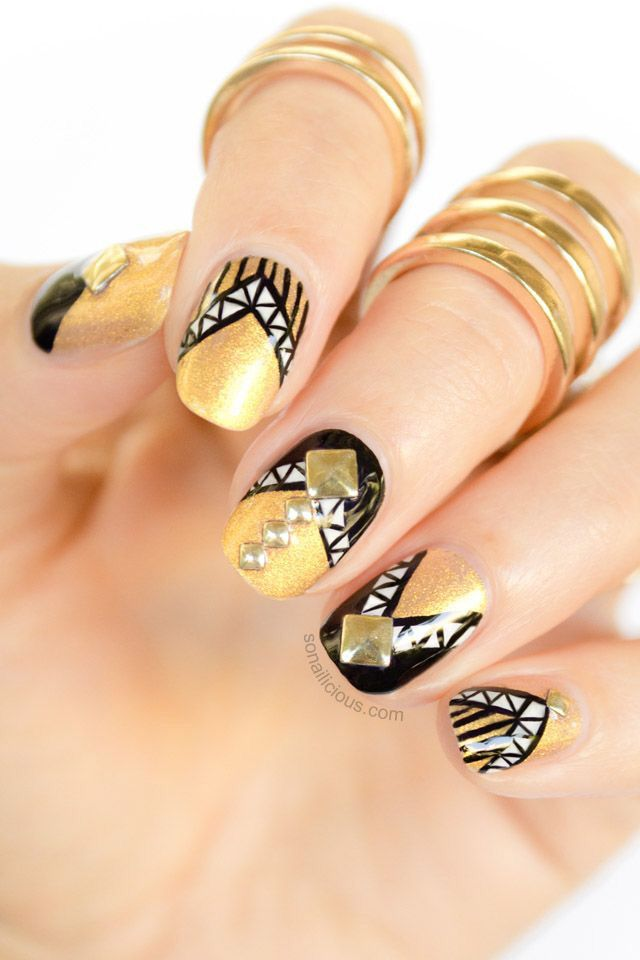 Nail art | Nails art and design 2 | Pinterest | Nail nail, Unique ...