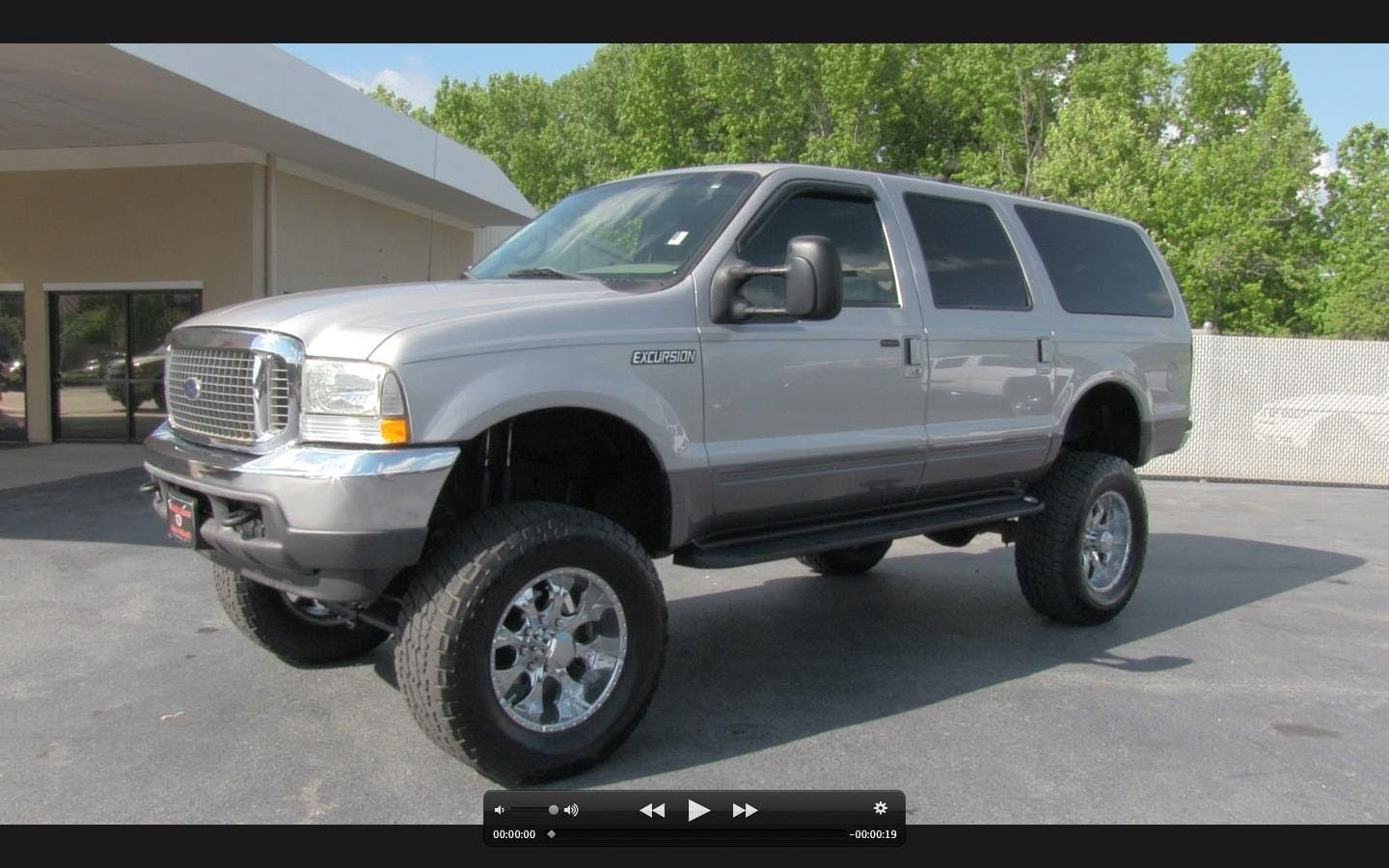 2002 ford excursion xlt 7 3l turbo diesel start up exhaust and