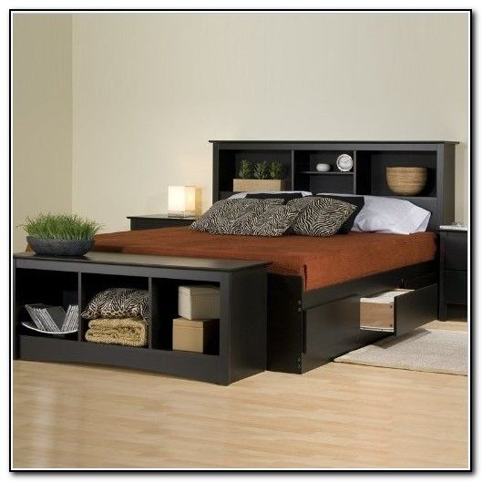 Bed Frame With Storage Drawers DIY Ideas Pinterest Storage