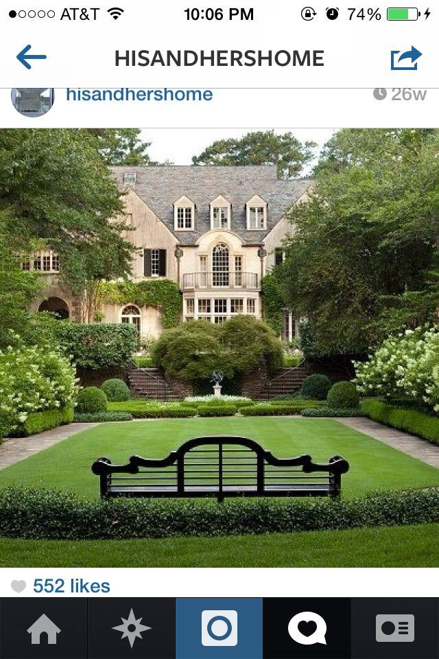 Lovely garden   Glorious Gardens   Pinterest   Gardens, House and ...