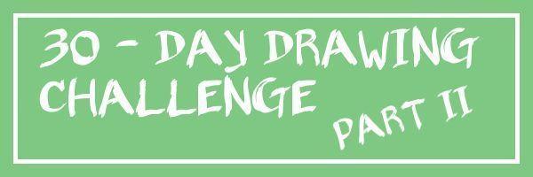 Nouveau défi de dessin de 30 jours et dessin du jour 1 - #challenge #drawing - #new - #challenge #drawing - - -