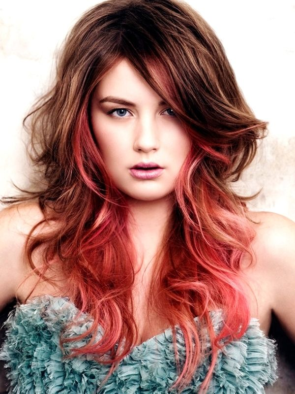 Cool Hair Colour Streaks Fashion From Runway Hair Makeup In 2018