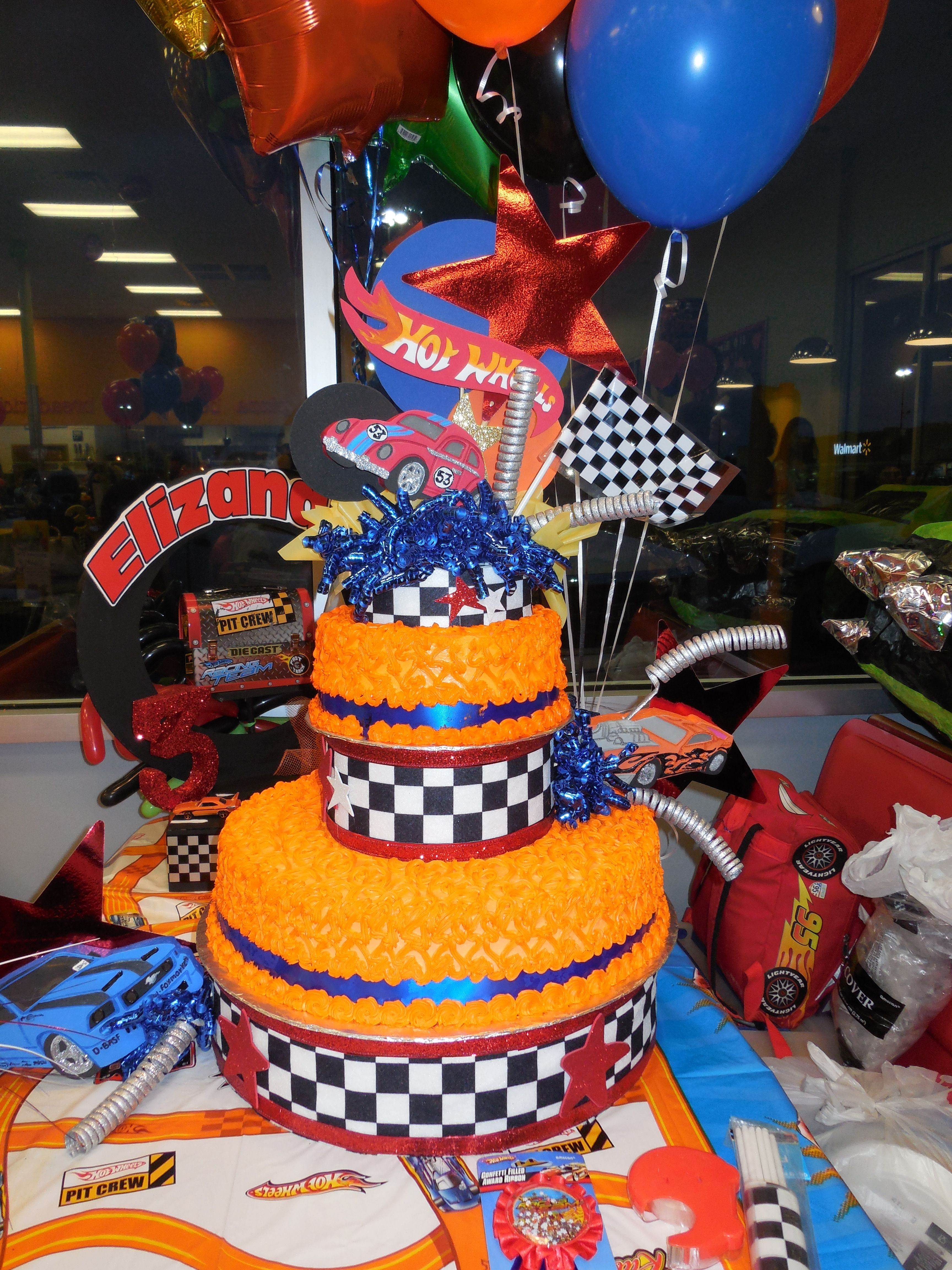 Hot Wheels Cake Walmart : wheels, walmart, Hotwheels, Birthday, Son's, Party!, Wheels, Birthday,, Cake,, Party