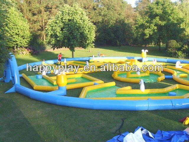 CE Inflatale Golf Game Mini Golf Backyard Mini Golf #backyard_mini_golf,  #Plays