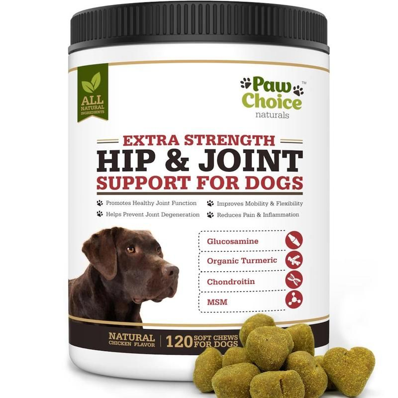 Advanced Hip And Joint Supplement For Dogs 120 Soft Chews