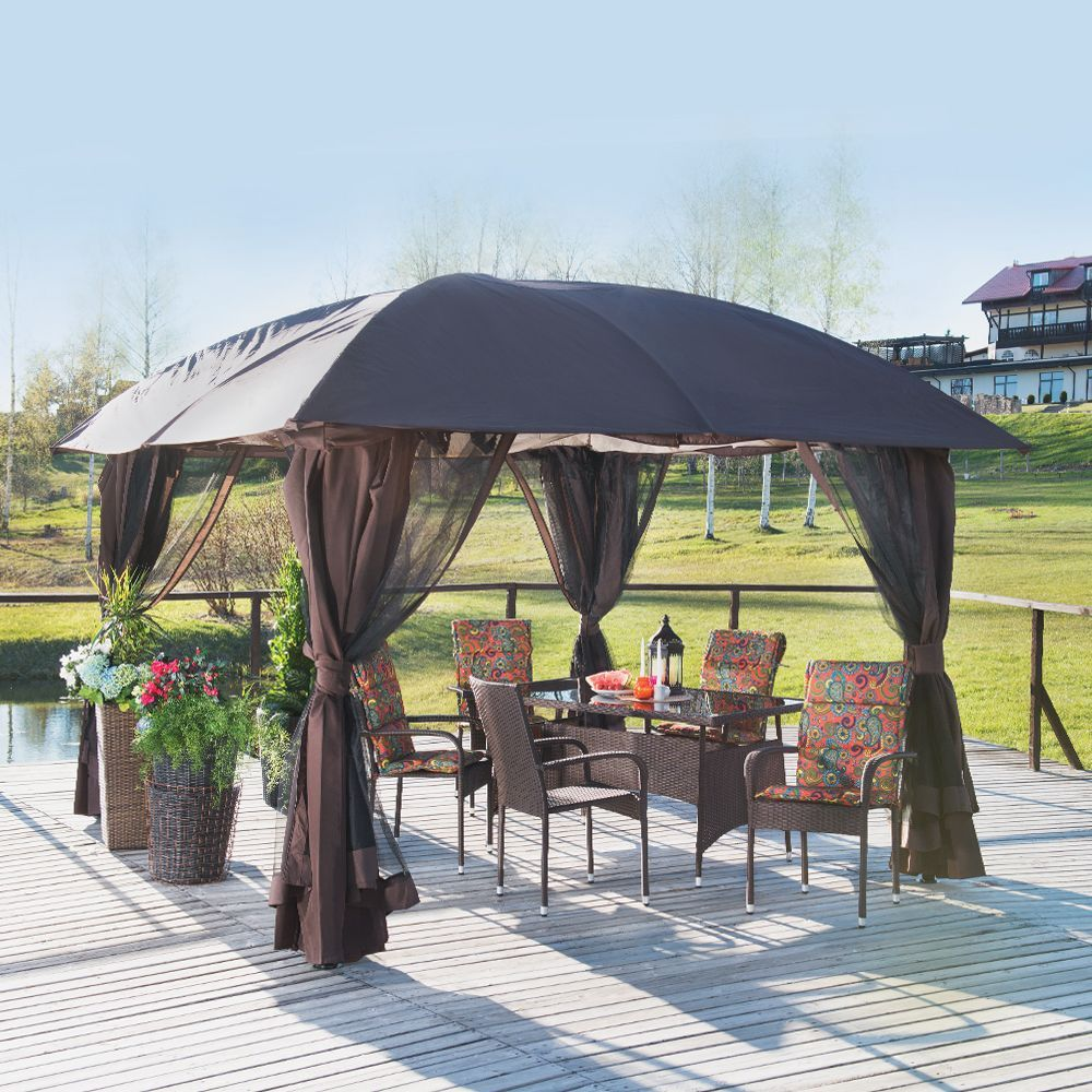 Jysk Tent With A Gazebo From Jysk You Can Shade Yourself From Sunny Rays Or