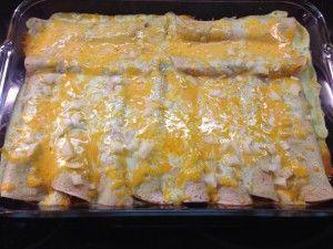 Sour Cream Beef Enchiladas Mrs Criddles Kitchen Creamed Beef Beef Enchiladas Sour Cream Enchiladas