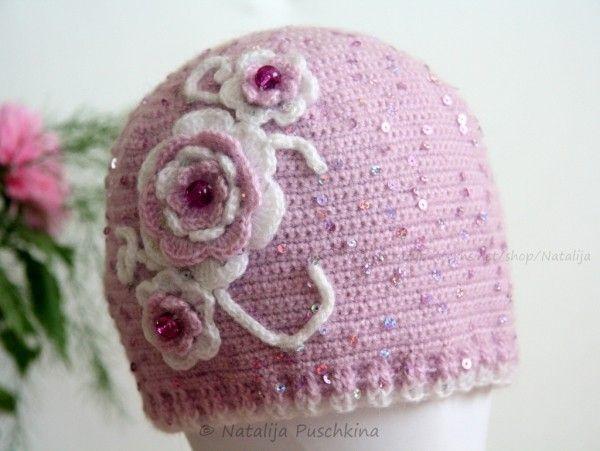 Winter Mütze für Damen oder Mädchen - Häkelanleitung | Mützen ...