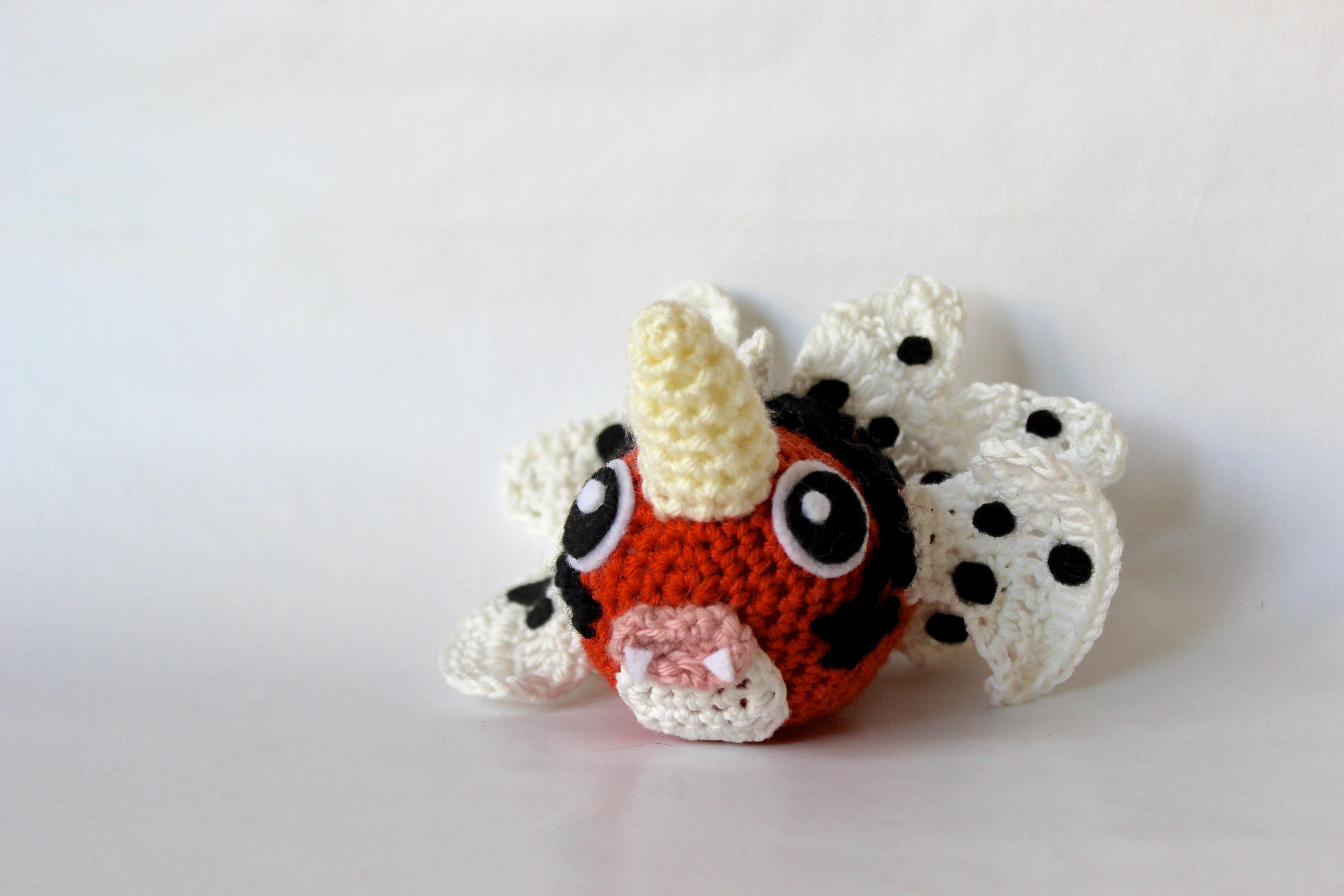 119 seaking crochet | Pokémon Fun | Pinterest | Muñecas
