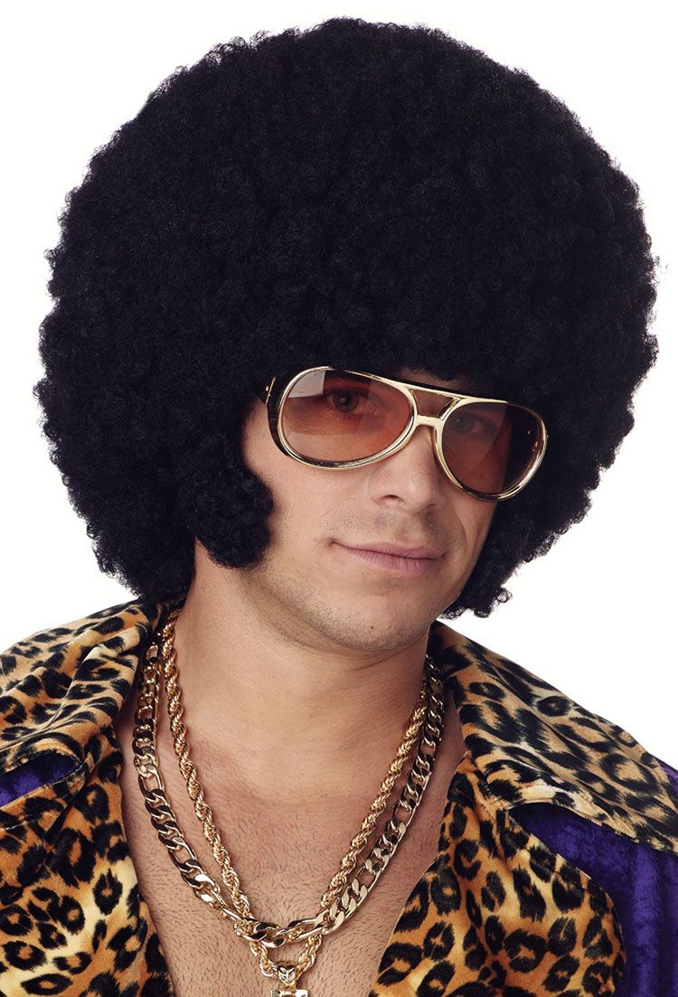 for Black Dynamite Costume Halloween costume wigs, Afro