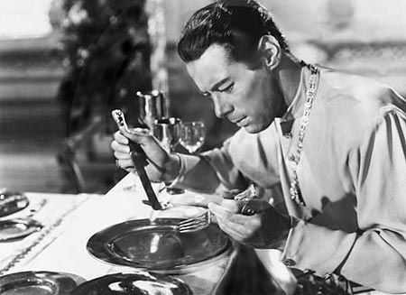 Rex Harrison in Anna and the King of Siam. 1946