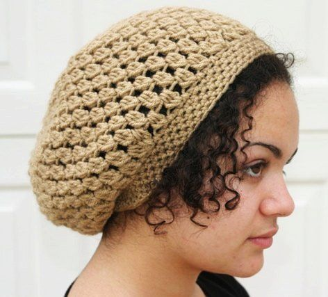 Kelechi Slouchy Beanie Pattern By Donna M Rutledge Crochet Beanie