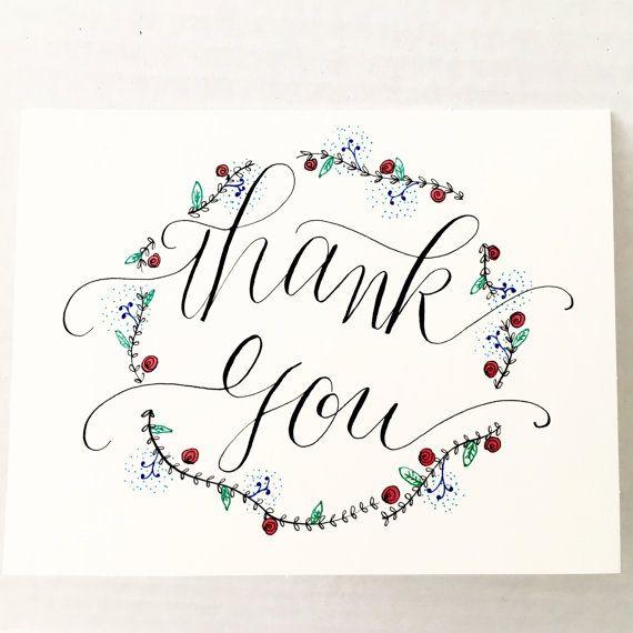 kranz dankesch n karte hand beschriftet von writewithliz auf etsy handlettering geburtstag. Black Bedroom Furniture Sets. Home Design Ideas