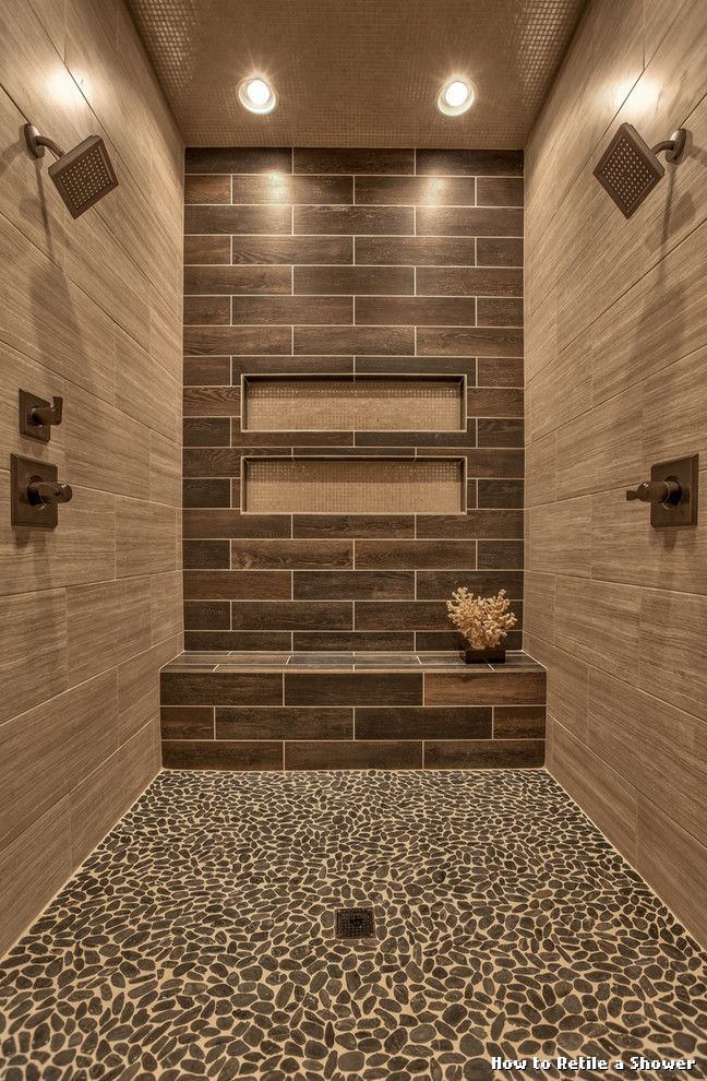 How To Retile A Shower By Hansgrohe Usa Bathroom Home Interior Ideas Hash Bathroom Remodel Master Bath Remodel Shower Remodel