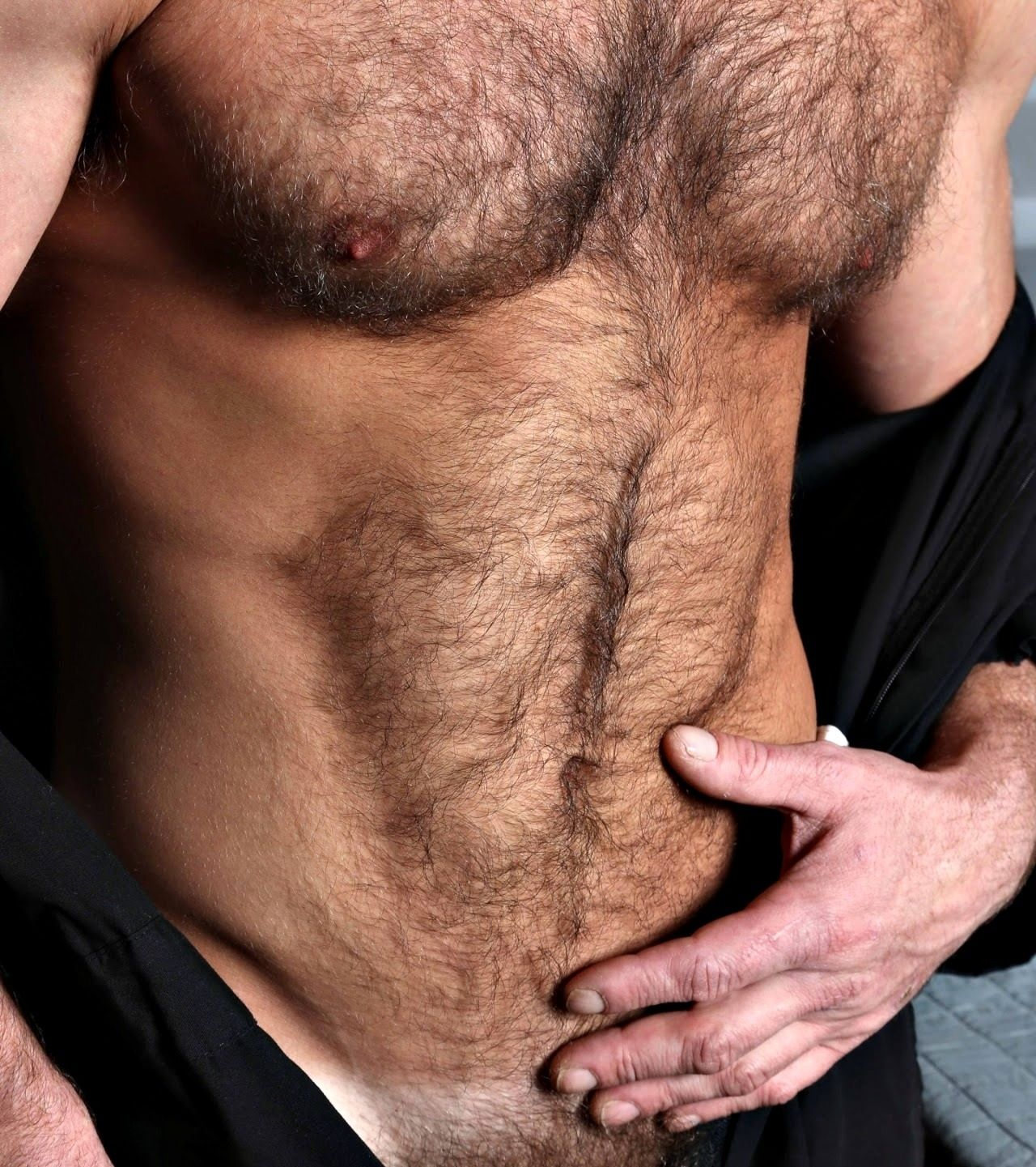 Have a hairy chest
