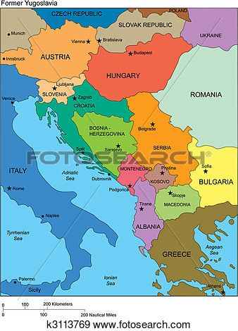 Former yugoslavia with countries names clip art pinterest clip art former yugoslavia with countries names view large clip art graphic gumiabroncs Images