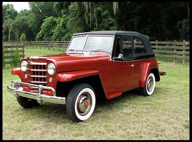 1950 Willys Overland Jeepster Mecum Auctions Jeepster Willys Vintage Jeep
