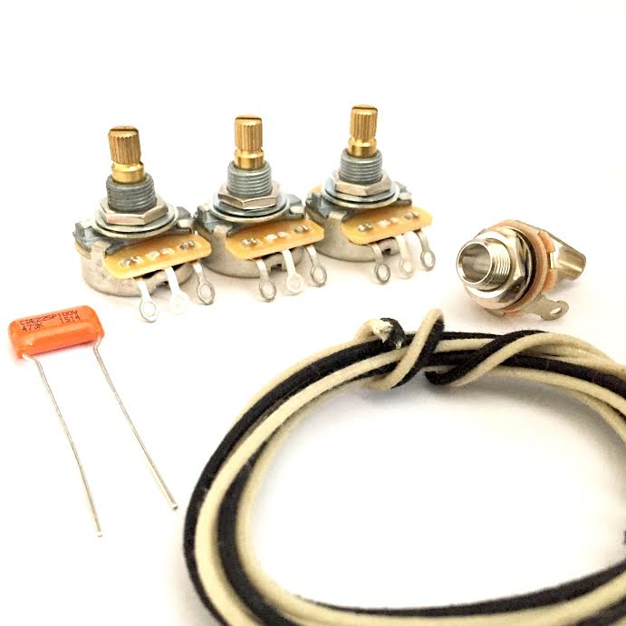 Jazz Bass Wiring Kit - The perfect upgrade to any jazz style bass ...