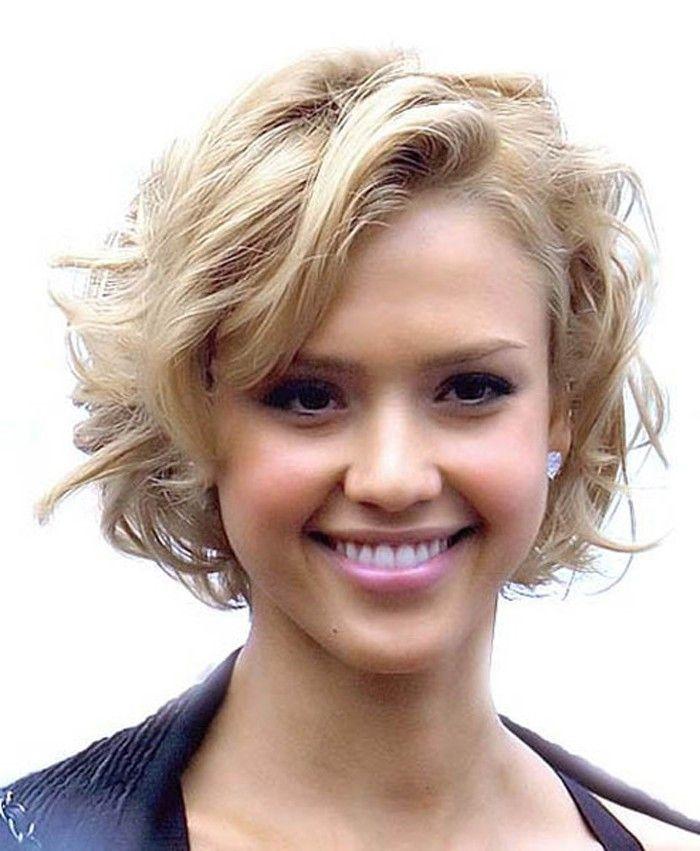 cute hairstyles for mixed girl hair | Haircuts for wavy hair, Short curly haircuts, Short hair ...