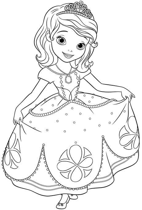 Coloriage Princesse Sofia Disney Princess Coloring Pages Princess Coloring Pages Princess Coloring