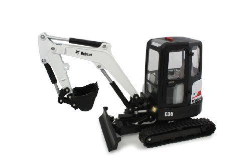 Ertl Collectibles 1 16 Big Farm Bobcat E35 Mini Excavator