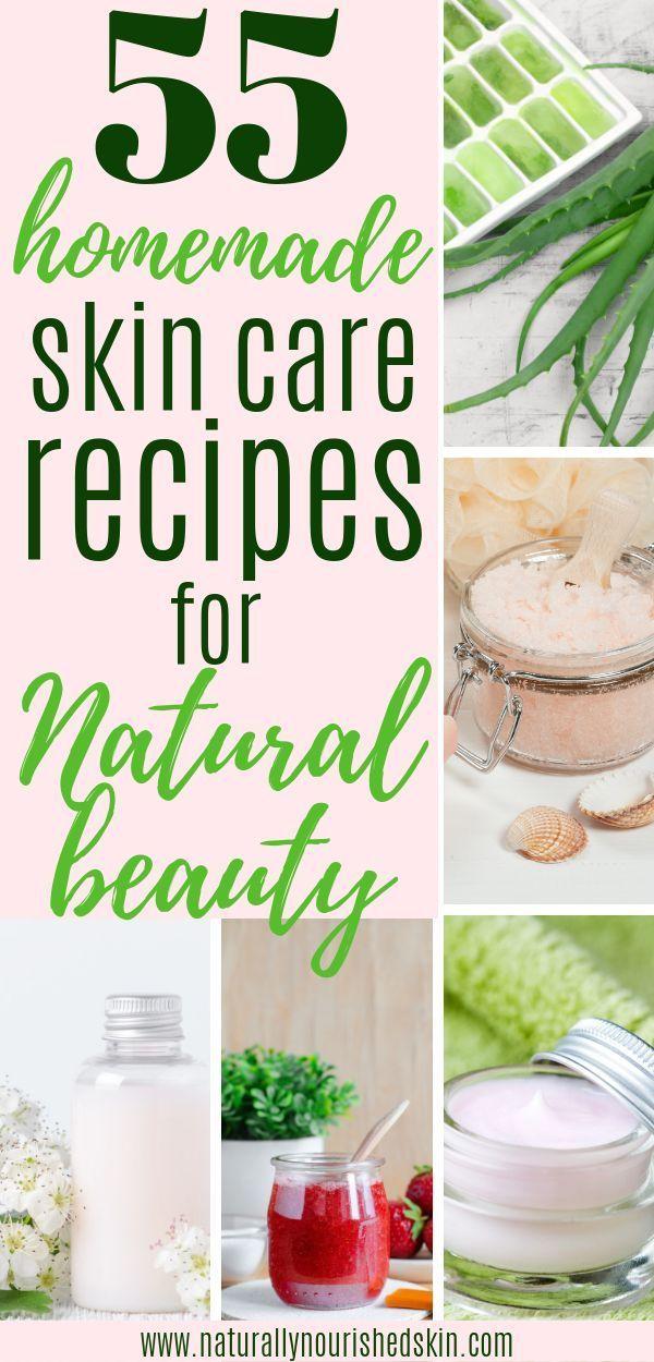 55 Homemade Skin Care Recipes for Natural Beauty DIY Skin Car # Nails #NailArt #NailPolish #GelNails #GelPolish #Acry