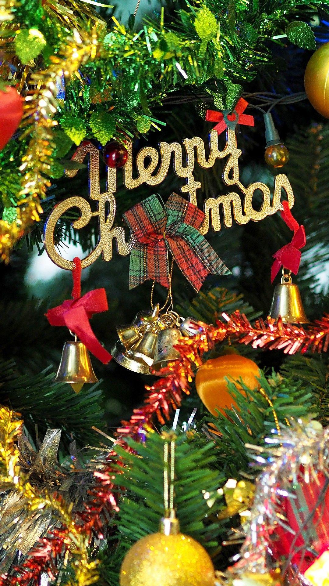 Merry Christmas Phone Wallpaper Lockscreen HD 4K Android ...