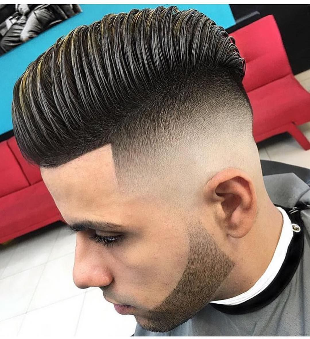 High Volume Comb Over With Skin Fade Undercut The Latest Hairstyles For Men And Women 2020 Hairstyleology High Fade Haircut Fade Haircut Styles Fade Haircut