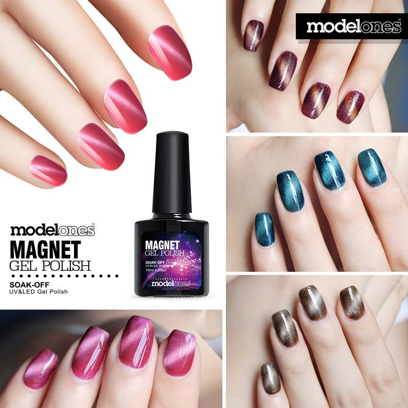 Aliexpress.com : Buy Modelones 1Pcs 10ml 3D Magnetic Gel Nail Polish ...