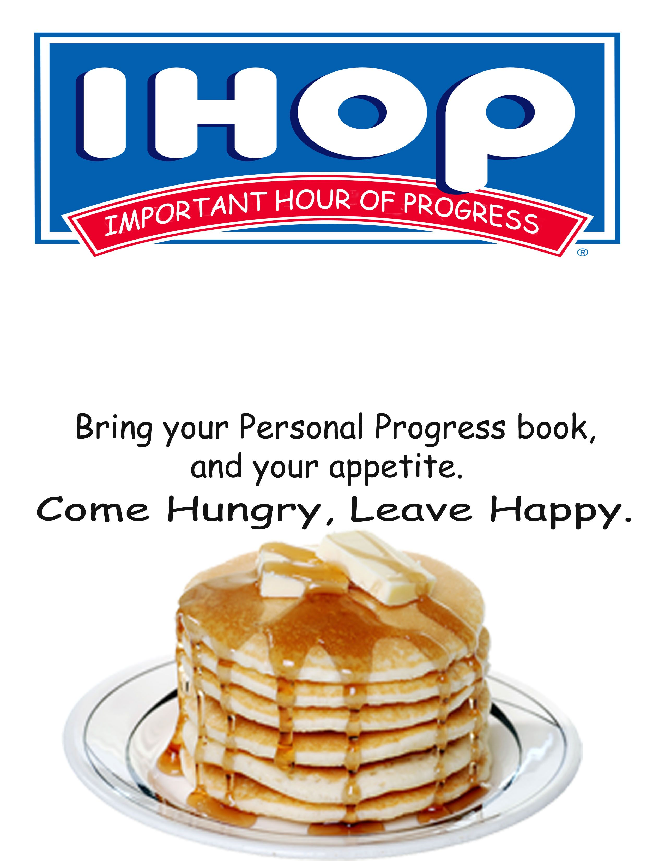 this is a blank/editable IHOP (Important Hour Of Progress) invite ...