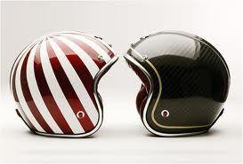 Old Motorcycle Helmets