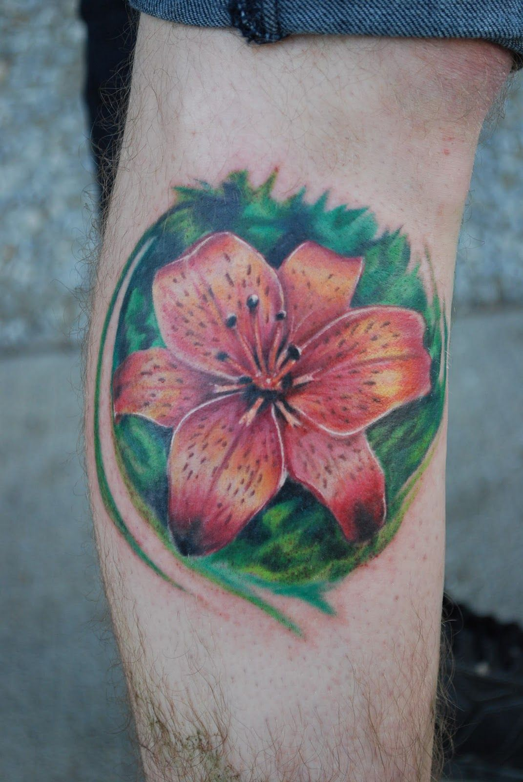 30 lily flower tattoos design ideas for men and women lily flower 30 lily flower tattoos design ideas for men and women izmirmasajfo Image collections