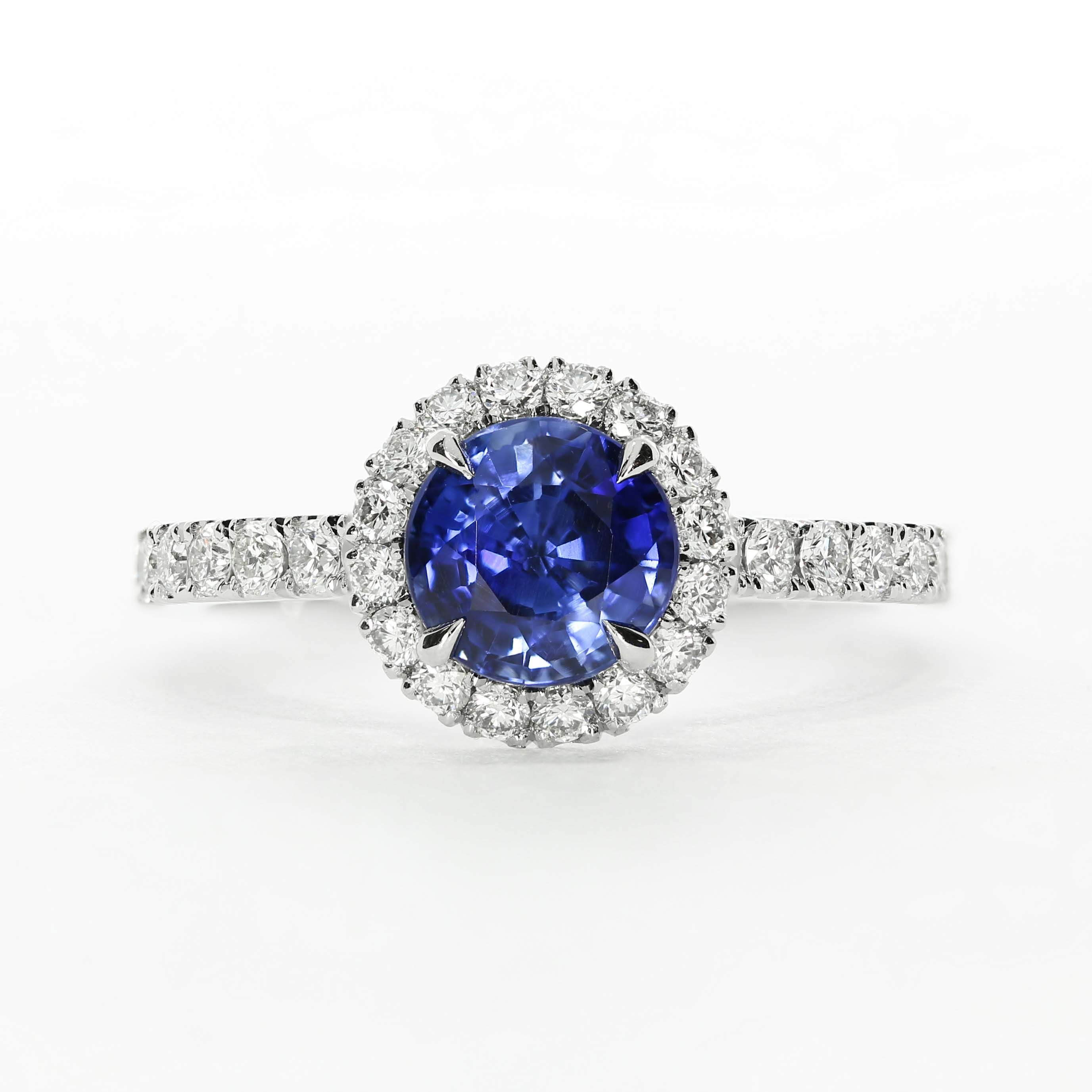 Our Classic Oberon Design The Perfect Sapphire Engagement Ring Also Available With A Di Bespoke Engagement Ring Engagement Rings Sapphire Diamond Engagement