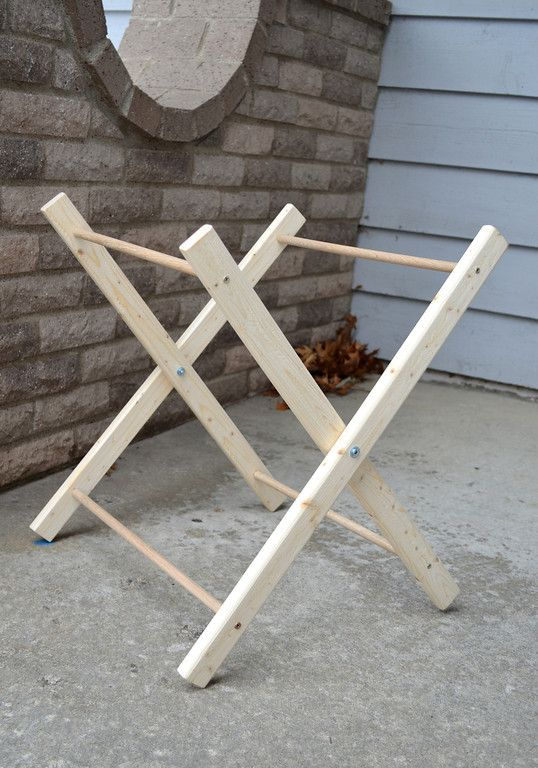 Hamper (frame Only)   Use 1x2 In Place Of Top Dowel, Drill Holes