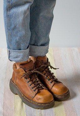 brown vintage doc martens   Doc Martens   Doc martens, Shoes, Boots 2d4b7117265a