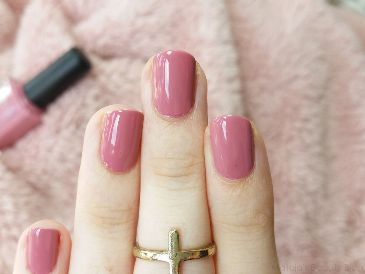 Mateja\'s Beauty Blog: Kiko Nail Lacquer 375 Bois de Rose | nails ...