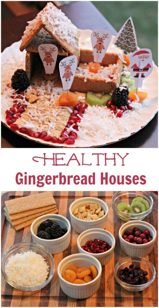 Build an easy gingerbread house for the holidays christmas tradition with  healthy twist great idea party activity family or also ideas cooking recipes and kitchen rh pinterest