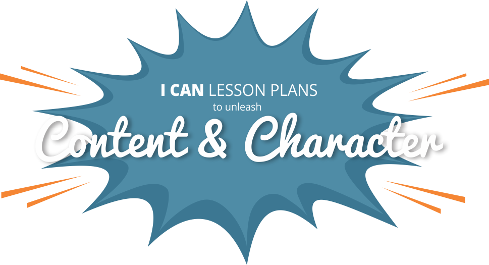 I Can, lessons plans Design thinking education, Design