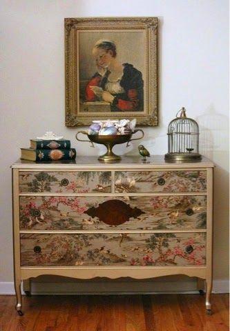 Decoupage la forma de decorar sin saber dibujar la - La comoda muebles ...