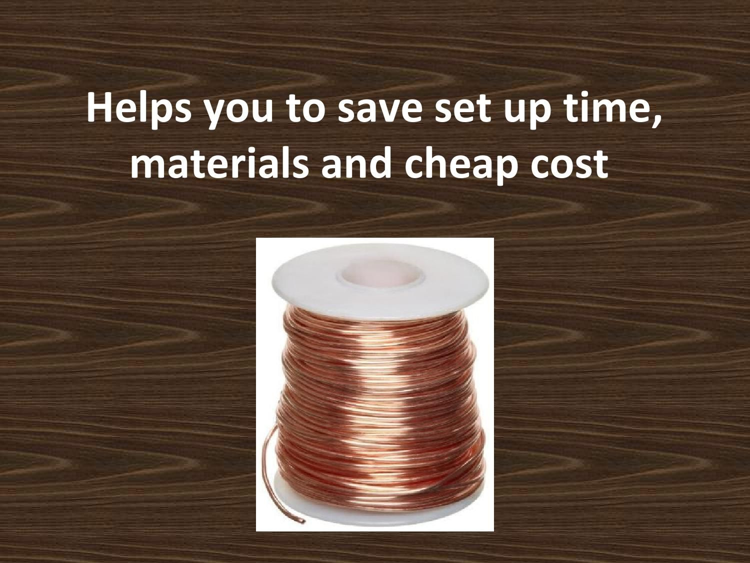 Helps you to save set up time, materials and cheap cost | Copper ...