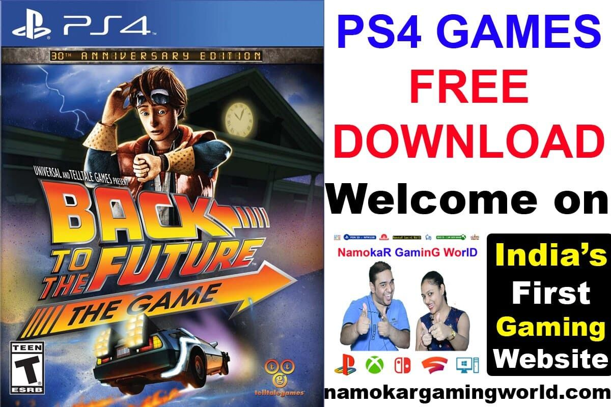 Back To The Future The Game (PS4) Free Download Check