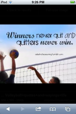 Winners Never Quit And Dengan Gambar