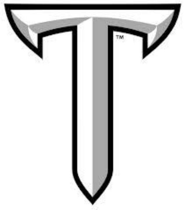 Troy Troy University Troy Trojans University Logo