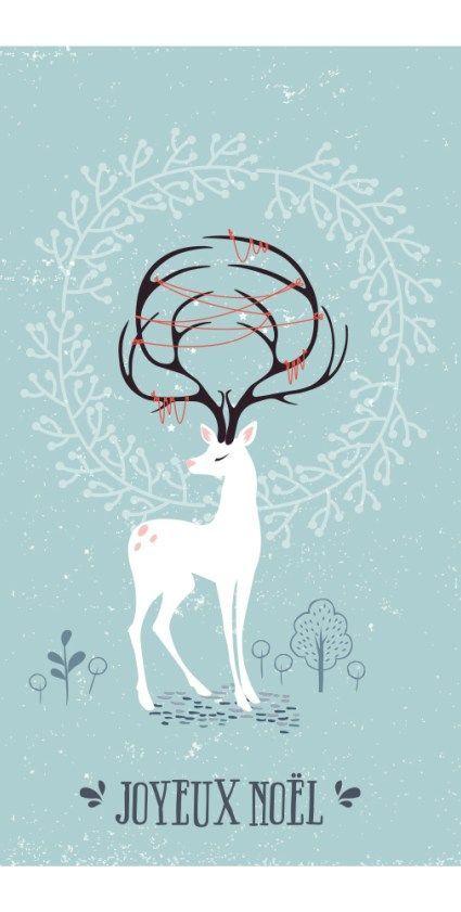 DIY   Une carte de vœux DIY à faire soi même pour Noël + printable