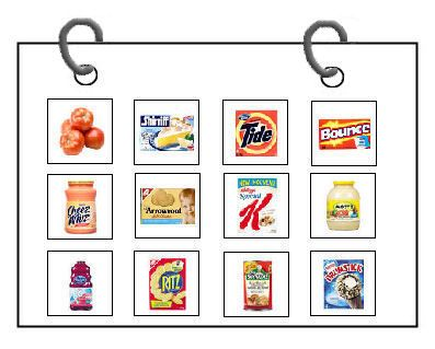 Grocery Pecs Autism Pec Symbols Picture Exchange Communication
