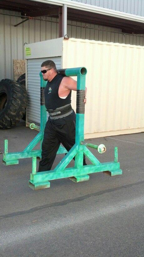 Yoke Carry 500 Lbs Strongman Ryan Diy Home Gym