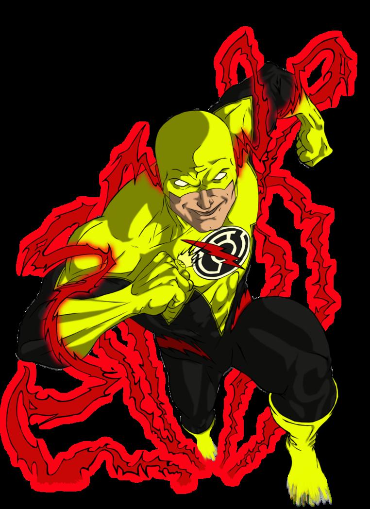 Sinestro Corps Reverse Flash By Zanderyurami Reverse Flash Reverse Flash New 52 Flash Comics