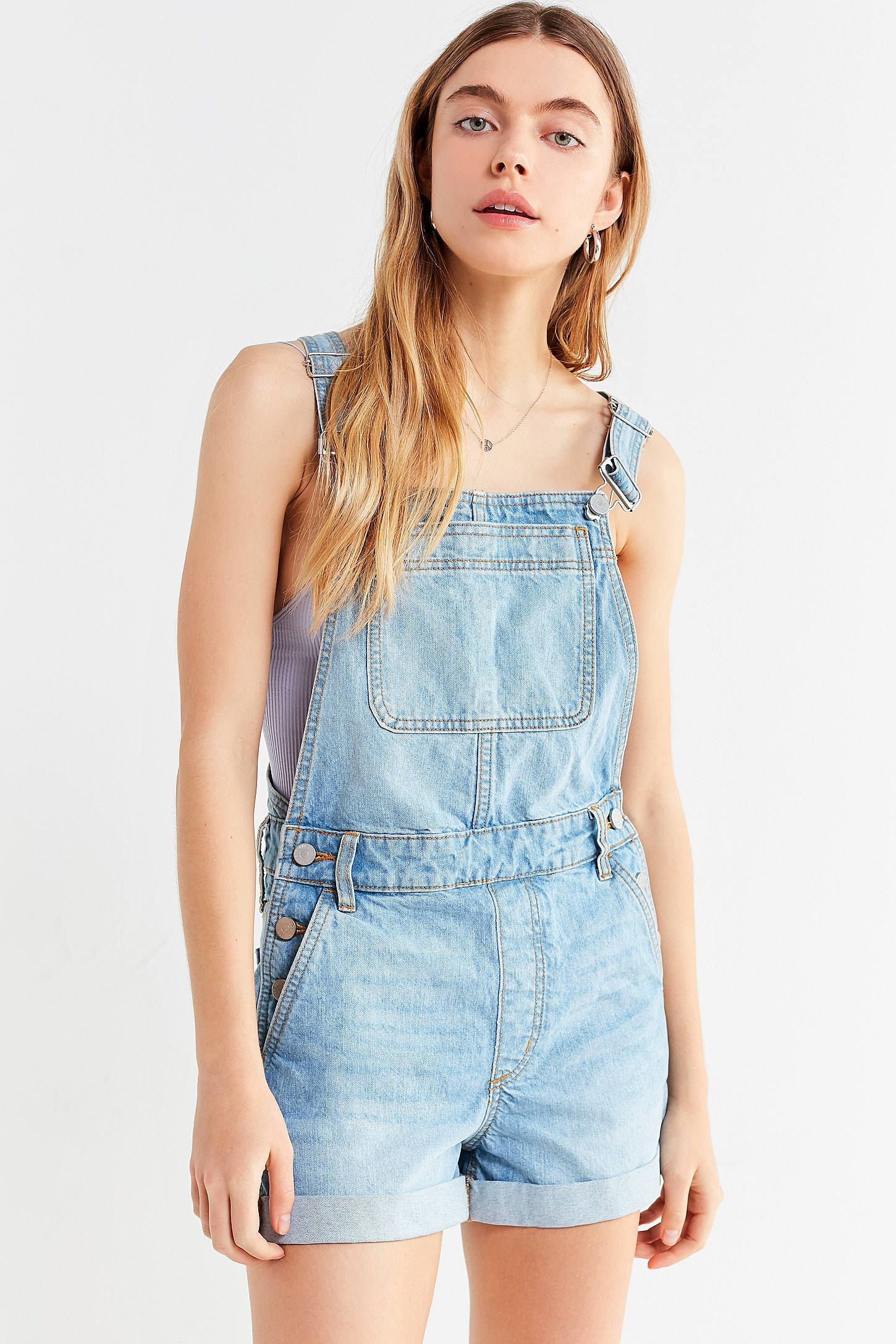 a6fcb1c920 Shop BDG Linda Denim Shortall Overall at Urban Outfitters today. We carry  all the latest styles, colors and brands for you to choose from right here.